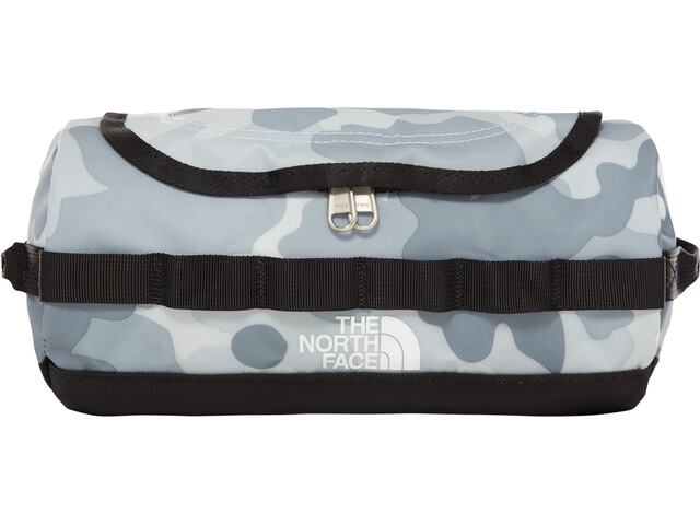 The North Face Base Camp Travel Canister S TNF White Macrofleck Camo Print/TNF Black